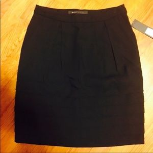 NWT Marc Jacobs Black Above Knee Skirt